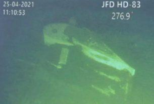Inilah penampakan temuan puin KRI Nanggalan