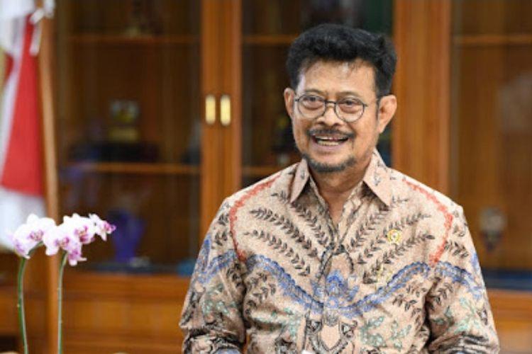 Menteri Pertanian (Mentan) Syahrul Yasin Limpo.