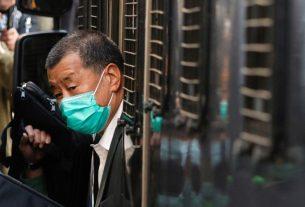 Taipan media di Hong Kong Jimmy Lai